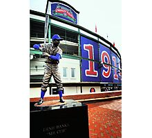 Wrigley Field 100th-Let's Play 2! Photographic Print