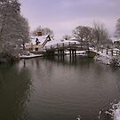 Bridge cottage, the home of landscape artist John Constable by miradorpictures
