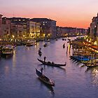 Venice dusk  by Yannis Larios