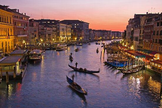 Venice dusk  by Yannis Larios