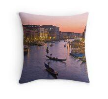 Venice dusk  Throw Pillow
