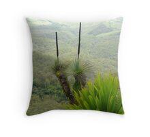 grass tree Throw Pillow