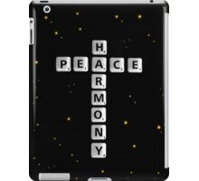 SOLD - PEACE AND HARMONY iPad Case/Skin