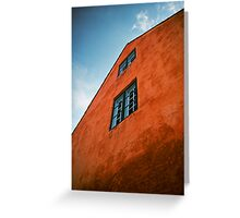 House in Nyboder, Copenhagen, Denmark Greeting Card