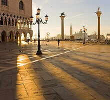 Venice waking up by Yannis Larios