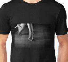 Latin dancing feet Unisex T-Shirt