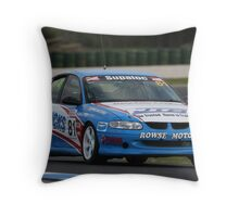 Blue VT Throw Pillow