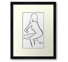 Nude Drawing II Framed Print