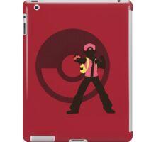 Red (Pokemon) - Sunset Shores iPad Case/Skin