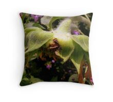 but He has overcome death. Throw Pillow