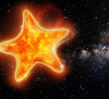 Star Shaped Star by Matt West