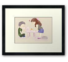 Baby Rumbelle Framed Print