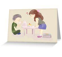 Baby Rumbelle Greeting Card