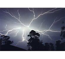Sydney Lightning Explosion ! Photographic Print