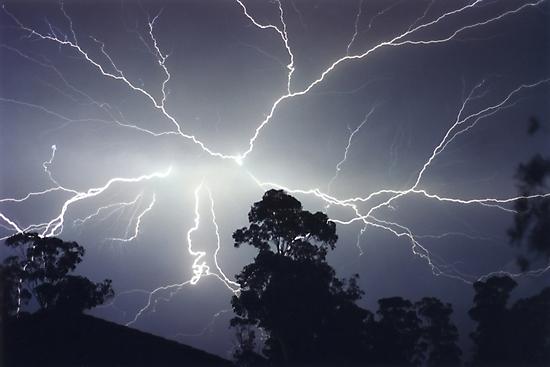 Sydney Lightning Explosion ! by Michael Bath