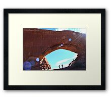 Explore Moab Arches Photographic Print Framed Print