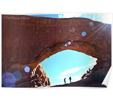 Explore Moab Arches Photographic Print Poster