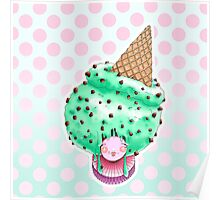 Doll faced dearies, Miss Minty choco chip  Poster