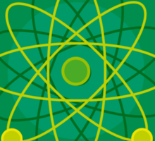 Atomic Structure (Graphic) Sticker