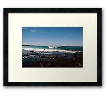 Aqua Framed Print