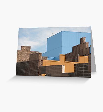 Modern Architecture (18) Greeting Card