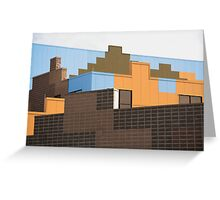 Modern Architecture (19) Greeting Card