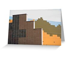 Modern Architecture (20) Greeting Card