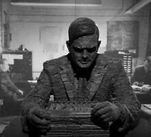Turing Sculpture by Graeme  Hunt