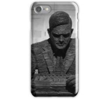 Turing Sculpture iPhone Case/Skin