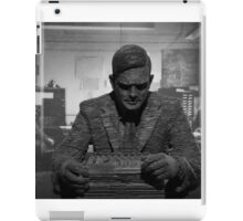 Turing Sculpture iPad Case/Skin