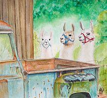 Three Amigas by RavenHartStudio