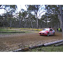 Mitsubishi Mirage EX Jappense circuit car verry not road legal Photographic Print