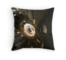 Dark Turret Throw Pillow