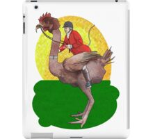 Genetically modified fox hunting iPad Case/Skin