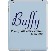 Buffy Since - Dark iPad Case/Skin