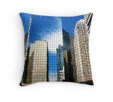Urban Reflections II Throw Pillow