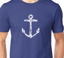 Anchor Vintage White Unisex T-Shirt