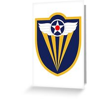 4th Air Force  WWII  USAAF Greeting Card