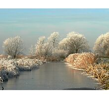 A MAGICAL WINTERS MORNING Photographic Print