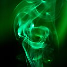 Green Smoke Trails by Mary Broome