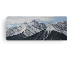 Rocky Mountains #1 Canvas Print