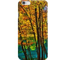 Autumn arrived to the Mirror Lake, Jiuzhaigou Valley 秋臨九寨沟 p3 iPhone Case/Skin