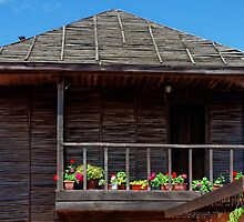 Traditional Wooden House in Nessebar, Bulgaria by atomov