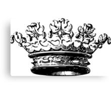 Vintage Crown Canvas Print