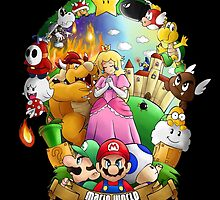 Composition - Mario world by Kurostars