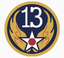 13th Air Force  WWII  USAAF T-Shirt