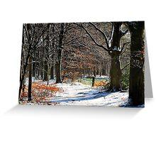 In winter wonderland Greeting Card