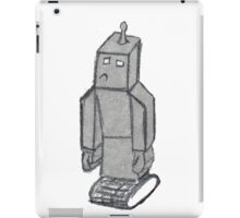 robo sad  iPad Case/Skin
