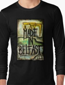 Made in Belfast oil pastel Long Sleeve T-Shirt