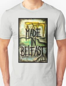 Made in Belfast oil pastel T-Shirt